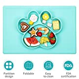Baby Placemat- Silicone Strong Suction Plates for