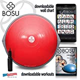 Bosu Balance Trainer, 65cm The Original - Red/Gray