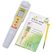 ORP-619 Backlit Display Pen-Type ORP Temp Meter Drinking Water Quality PH Meters Oxidation Analyzer