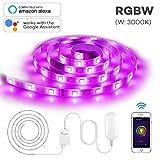 Best SUPERNIGHT Under Cabinet Lights - Megulla Smart Wi-Fi RGBW (Warm White, 3000K) LED Review