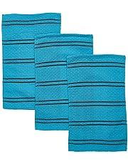 SongWol Korean Beauty Skin X-Large Viscos Exfoliating Badhanddoek Handschoenen Sterke Scrub Wash Kleding (3 Pack)