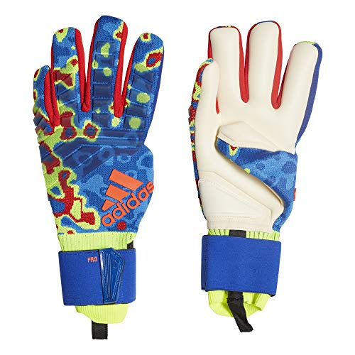(adidas Predator PRO Manuel Neuer Negative Cut Prime Knit Goalkeeper Gloves for Soccer)