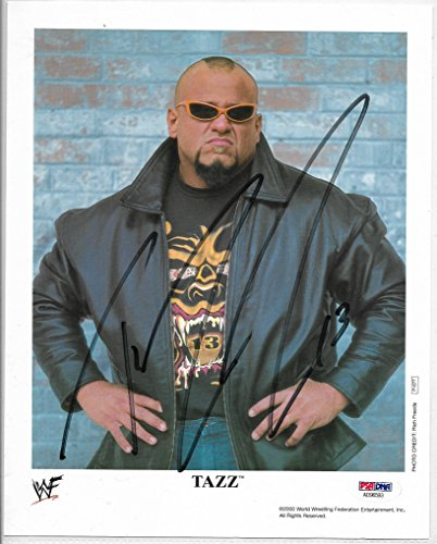perstar Tazz Autographed Official WWE Photo PSA/DNA Cert ()