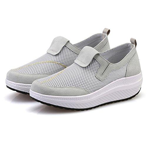 LFEU altas gris Zapatillas gris Mujer Mujer Zapatillas Zapatillas altas LFEU LFEU wYxn8Fqp