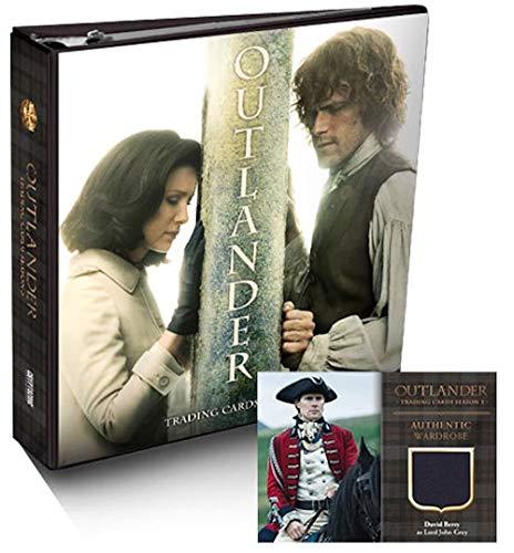 2019 Cryptozoic 'Outlander' Season 3 Official Binder (includes ONE exclusive Wardrobe card)
