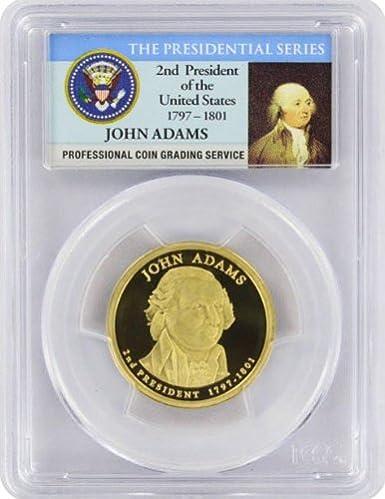 2007-S John Adams 2nd President  Presidential Dollar PCGS PR69DCAM