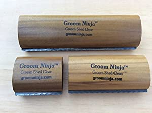 Groom Ninja Grooming, Shedding, Cleaning Brush Tool for Cows, Horses, Pigs, Cattle
