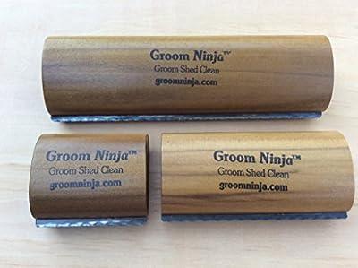 Groom Ninja Grooming, Shedding, Cleaning Brush Tool for Cows, Horses, Pigs, Cattle by Groom Ninja