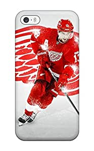 Premium Durable Hockey Nhl Dat Detroit Red Wings Pavel Datsyuk Fashion Tpu Iphone 5/5s Protective Case Cover