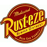 """Rust-Eze Car Bumper Sticker 5"""" x 5"""""""