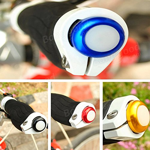 Bicycle Handlebar Light Cycling LED Bar End Plugs Safety Signals ( Gold ) by Freelance Shop SportingGoods (Image #3)