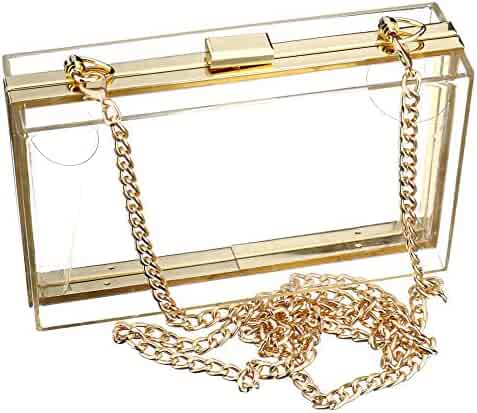 c504691bc1cd Shopping Clear - Clutches & Evening Bags - Handbags & Wallets ...