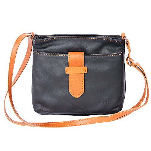 cross leather tan 8658 bag Black Soft 5f6zx5