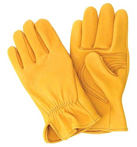 Sullivan Deerskin Roping Cowboy Gloves Made in the USA! Size Medium by Sullivan