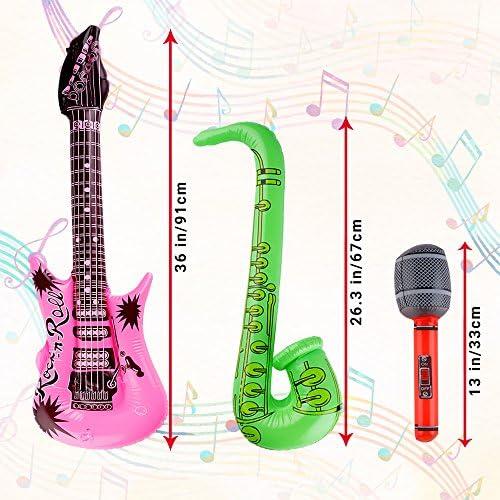 12 Instrumentos Musicales Inflables - Accesorios Para Fiestas ...