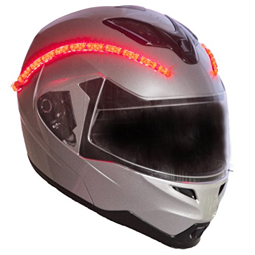 LightRider™ for Motorcycle Helmets — 360° Light with 'Power Protected' - Helmet Kit Light
