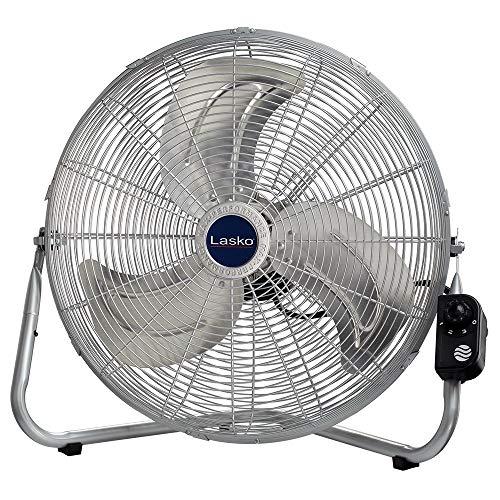 Lasko 2265QM 20-Inch Max Performance High Velocity Floor/Wall mount fan, Silver (Renewed) (Floor Contemporary Fans)