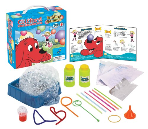Young Scientist Club Clifford The Big Red Dog Bubble Science Kit
