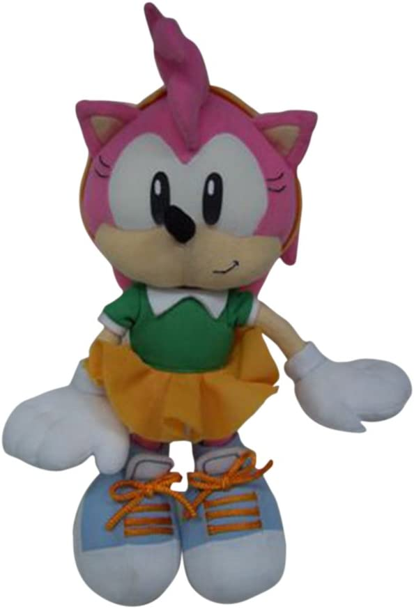 Amazon Com Ge Animation Sonic The Hedgehog Classic Amy Plush Toys Games