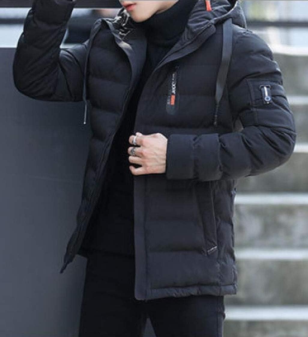 Keaac Mens Outwear Winter Hooded Down Jacket Packable Lightweight Puffer Coats