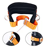 YaeTact Portable Safety Belt Fall Arrest Kit with Hip Pad and 2 D Rings, Personal Protective Equipment Safety Climbing Harness