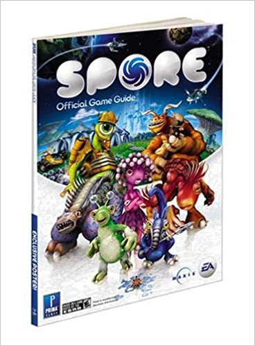 New sealed prima spore galactic adventures official game guide.