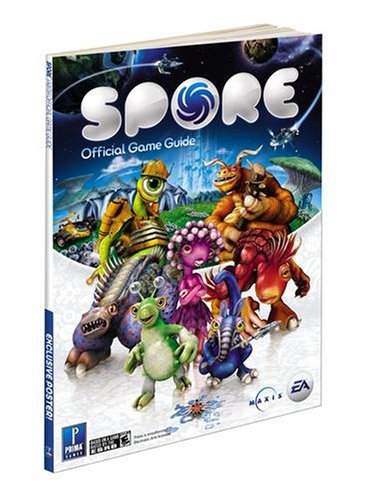Sealed new spore official strategy guide expansion pack prima.