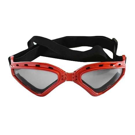 Meisijia Objectifs chien Lunettes de soleil protection UV Pliable Protection des yeux Porter 8emCBoX