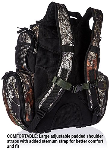 084298636042 - Wild River Tackle Tek Nomad Mossy Oak Camo LED Lighted Backpack, Fishing Bag, Hunting Backpack carousel main 1