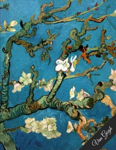 - Van Gogh: Notebook Journal - Large (8.5 x 11 inches) - 100 Pages - Almond Blossoms Cover (Vintage Notebooks)