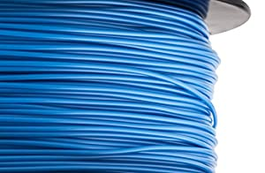 HATCHBOX 3D ABS-1KG1.75-285C ABS 3D Printer Filament, Dimensional Accuracy +/- 0.05 mm, 1 kg Spool, 1.75 mm, Blue from HATCHBOX