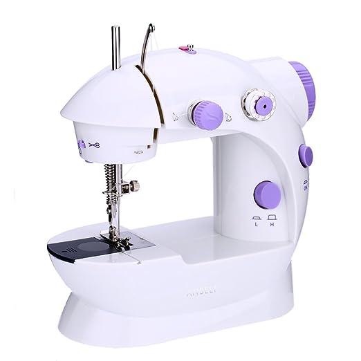 PoWise Mini máquina de coser portátil, here & There AC100 - 240 V ...