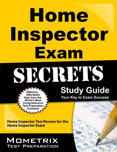 Home Inspector Exam Secrets Study Guide: Home Inspector Test Review for the Home Inspector Exam by Home Inspector Exam Secrets Test Prep Team (2013-02-14) Paperback