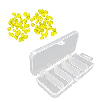 100 Stück Mais Fischköder Schwimmköder im Angelgerät Box Angeln Werkzeug