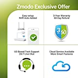 Zmodo 8CH Wireless Security Camera System - 1080P HDMI NVR with 500GB Hard Drive, 4 x 720P HD Indoor/Outdoor Wireless Cameras Night Vision - WiFi Easy Installation No Video Cables Needed