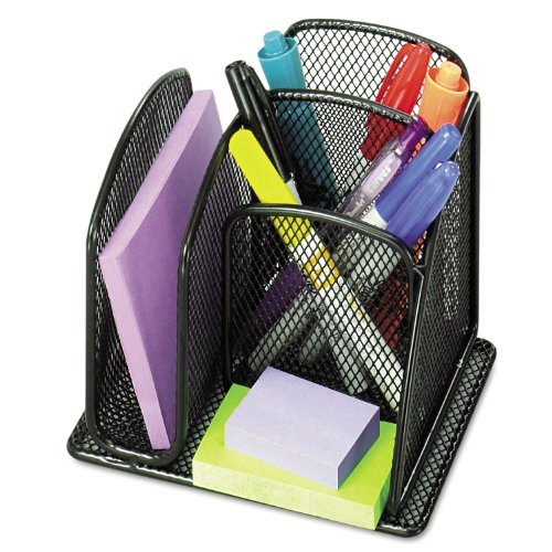 (SAF3250BL - Safco Onyx Mini Organizer with Three Compartments)