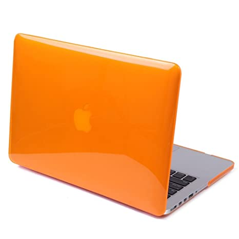 DETUOSI Funda MacBook Pro Retina 13.3,[Glossy Design] Funda Carcasa de Protector de para Apple MacBook Pro de 13,3