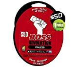 $50 BOSS Revolution International Prepaid Phone Cards | Instant Mobile Top Up | Call Long Distance From The USA | Pin-less Dialing | New Customers Get $1 FREE | (Better Use Boss - Retailer)