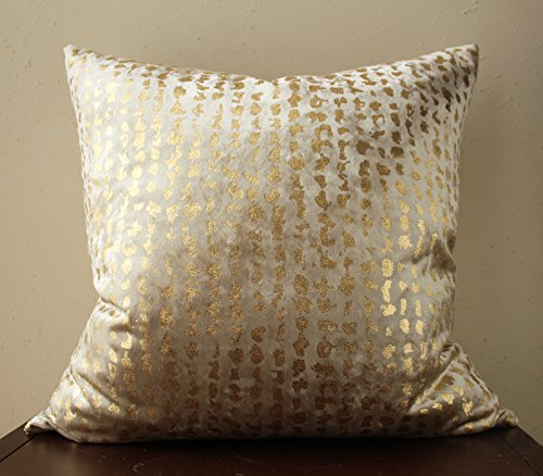 Crushed Velvet Stag Deer Cushion ANY COLOUR Champagne Gold