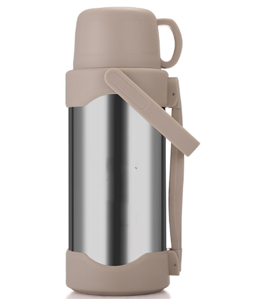 304 edelstahl vakuumreise topf tragbare tragbare heißwasserflasche große kapazität outdoor / home / wandern / bergsteigen / klettern / camping / sport wasserflasche 3L / 35 l 3.5l
