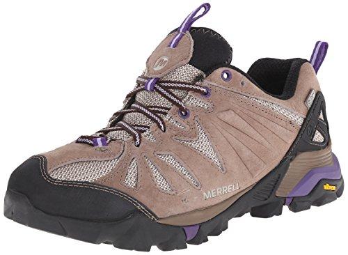 Merrell Capra de zapatos de trekking impermeables Taupe