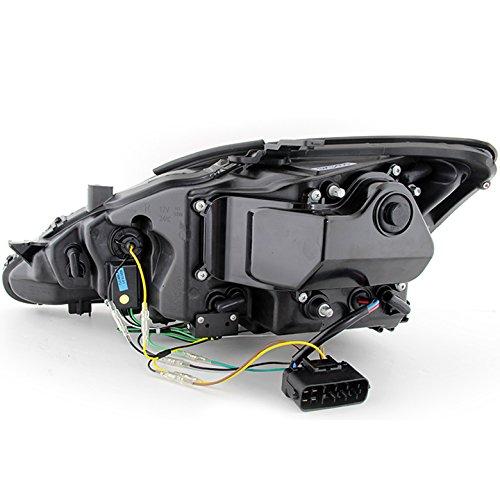 Xtune 2006 2010 Is250 Is350 Black Projector Headlights W