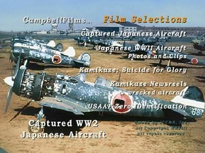 Kamikaze Captured Aircraft Japanese Zero Warbirds WW2 old Films DVD by Japanese
