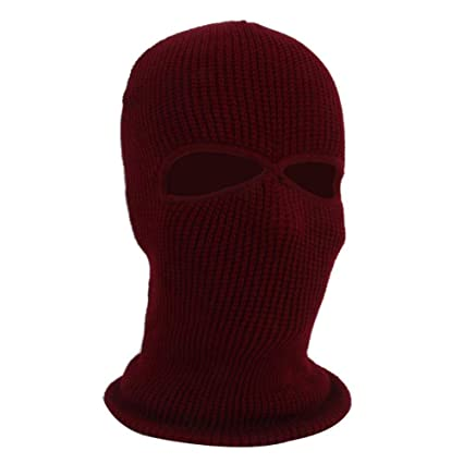 Amazon Ksruee Unisex Balaclava Knit Hat Full Face Cover Mask