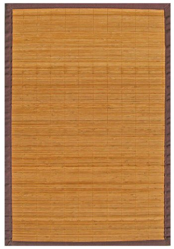 Anji Mountain 2-Foot-by-3-Foot Natural Fiber Rug, Villager Natural (Cushions Outdoor Kohls Patio)