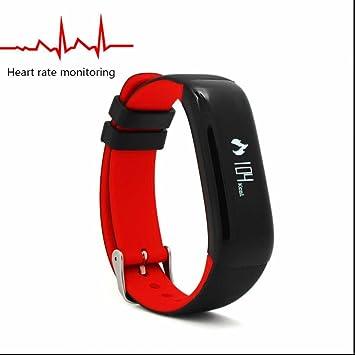 Hoosking Fitness Watch Heart Rate Pulse Point Touch Smart Bracelet