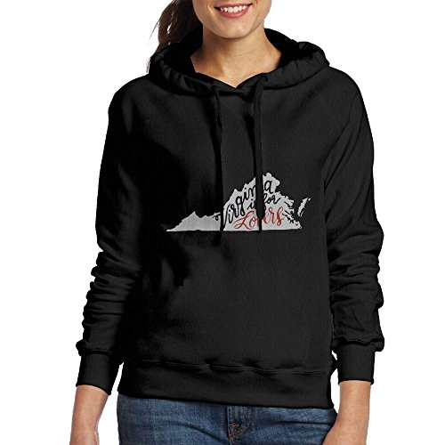 Virginia Classic Sweatshirt (Womens Adult Classic Fashion Virginia Is For Lovers Pullover Hoodie)