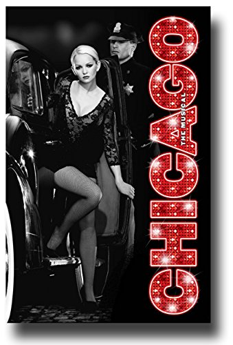 Chicago Poster - Broadway Musical Theater Play 11x 17 Car ()