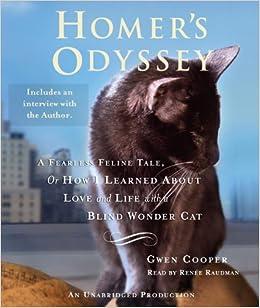 Amazon fr - Homer's Odyssey: A Fearless Feline Tale, or How