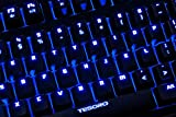 Tesoro Excalibur G7NL Brown Mechanical Switch Blue LED Backlit Illuminated Mechanical Gaming Keyboard TS-G7NL (BW)